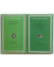 Apostolic Fathers, in 2 vol. / Loeb Classical Library
