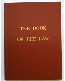 The Book of the Law, Crowley.