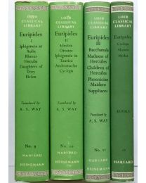 Euripides, in 4 vol. / Loeb Classical Library