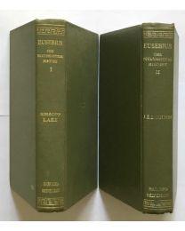 Eusebius, Ecclestical History, in 2 vol. / Loeb Classical Library