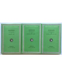 Nonnos, Dionysiaca, in 3 vol. / Loeb Classical Library