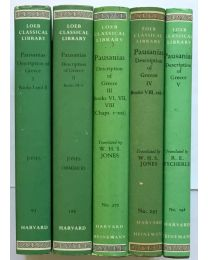 Pausanias, Greece, in 5 vol. / Loeb Classical Library