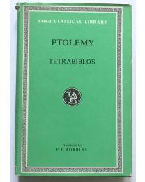 Ptolemy, Tetrabiblos / Loeb Classical Library