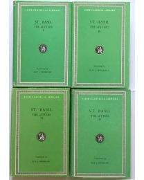 St. Basil, Letters, in 4 vol. / Loeb Classical Library