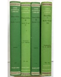 Thucydides, Peloponnesian War, in 4 vol. / Loeb Classical Library